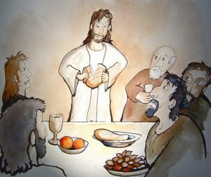 Precious Moments; Kids and Communion