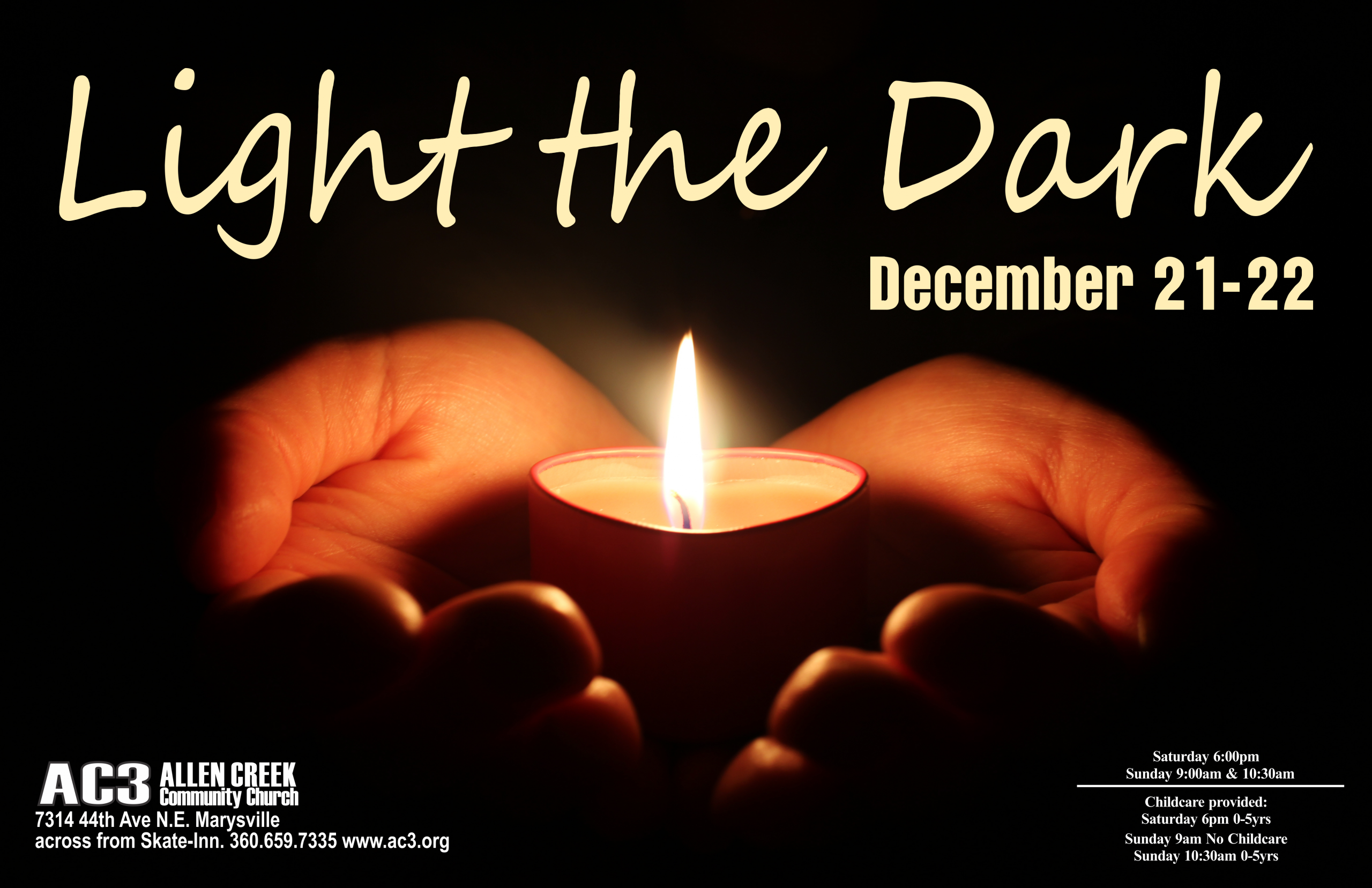 12/22/19 – Light the Dark
