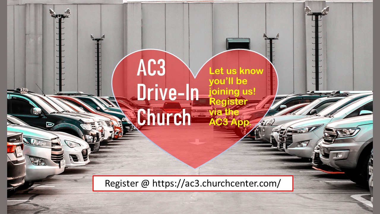 Drive-In Church Coming to AC3