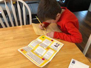Kreek Kids at Home Activities – COVID19