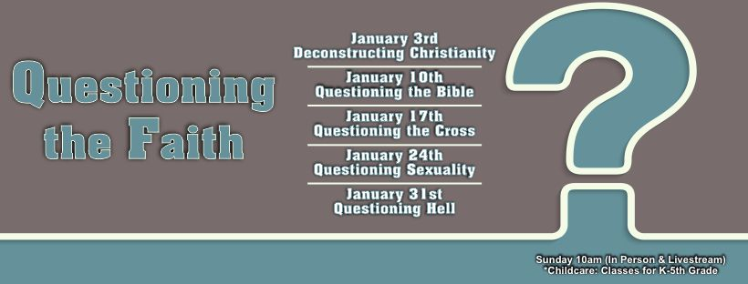 1/31/2021: Questioning the Faith – Questioning Hell