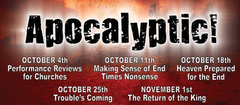 11/01/2020 – The Return of the King: Apocalyptic!