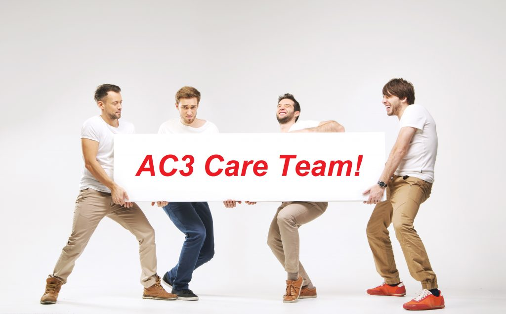 The AC3 Care Team wants YOU!