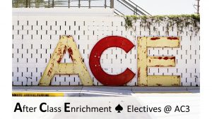 Just ACE It! After Class Enrichment Fun